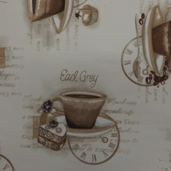 tissu tassa à café:Réf150310