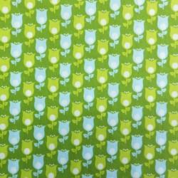 tissu coton green: soft cactus