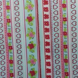 coton enduit : flower :