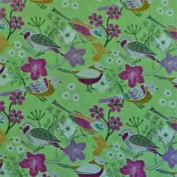 Tissu coton  birds : 44294