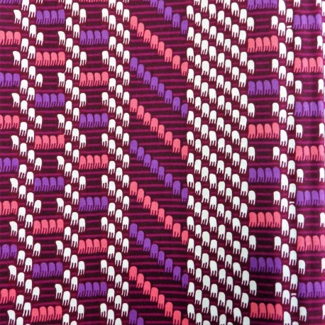 Tissu wax : W 57010