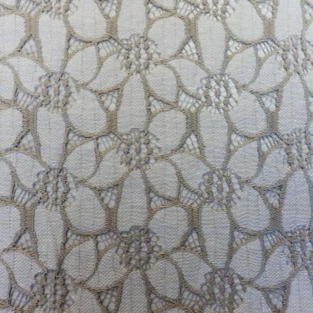 """Tissu dentelle """" flower"""" : 44212"""