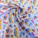 Tissu coton popelin fancy : 57911