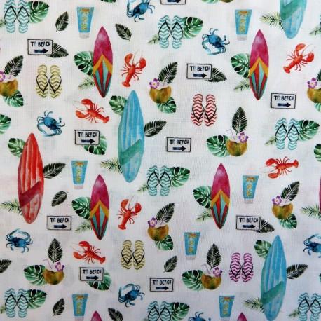 Tissu coton travel : 57919