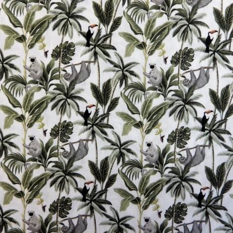 Tissu coton paresseux :  57920