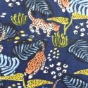 Tissu jersey léopard :  57921