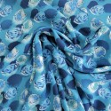 Tissu viscose marin : 57927