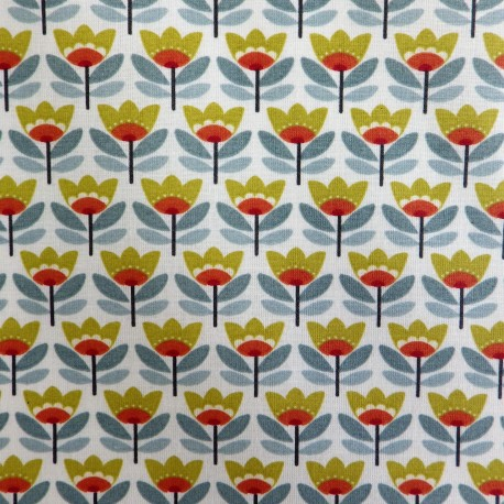 Tissu coton enduit : 57938