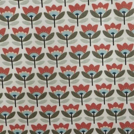 Tissu coton enduit : 57940