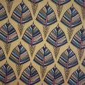 Tissu coton à feuillage EKOZI  : 57962