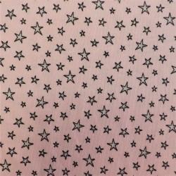 Tissu jersey coton stars : 57969