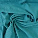 Tissu double gaze à pois argentés :  57976