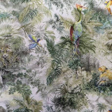 Tissu coton  ' paradisiaque'