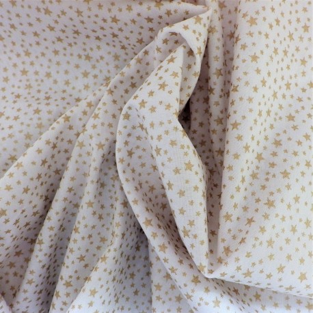 Tissu coton étoiles : 58004