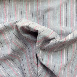 Tissu lin coton :   58011