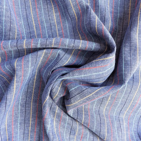 Tissu lin coton :   58014