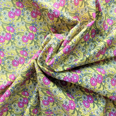 Tissu popeline coton :58017