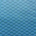 Tissu coton enduit : 58030