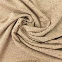 Tissu sweat  chiné  à fils lurex : 21641