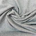 Tissu sweat  chiné  à fils lurex : 21640
