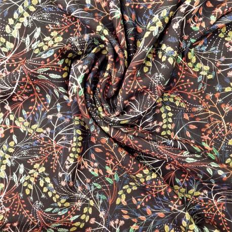 Tissu viscose Garden :  21591