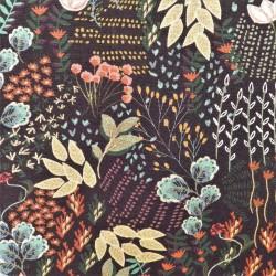 Tissu viscose garden : 21279