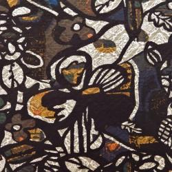 Tissu jacquard cubiste : 21687