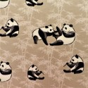 "Tissu jersey coton "" panda"" : 21359"