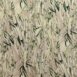 "Tissu jersey coton ""bambou"" :  21357"