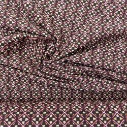 """Tissu jacquard """"cubiste"""" : 21625"""