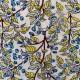 Tissu  viscose garden : 22911