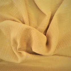 Tissu double gaze à pois : 21225