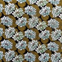 """Tissu coton  """" japonisant"""" : 22798"""