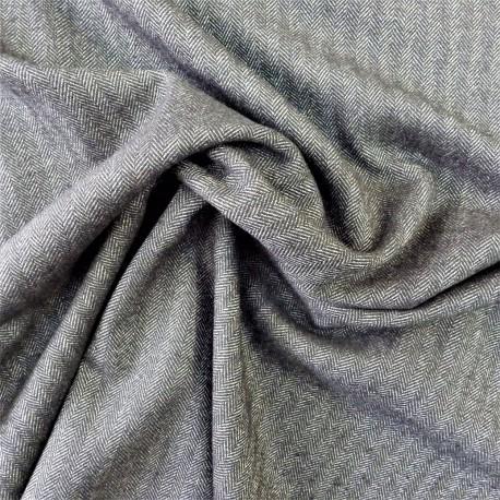 Tissu chevrons gris :  22811
