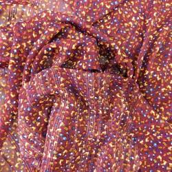 Tissu voile à fils lurex : 22820