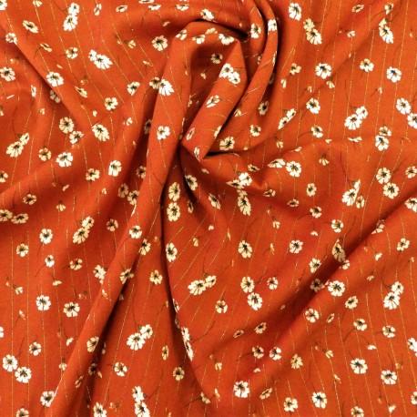 Tissu viscose à fils lurex : 22827