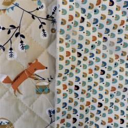 Tissu coton matelassé:  22833