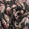 Tissu voile  viscose à fils lurex : 22847 : 14.50€ le mètre