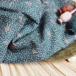 "Tissu viscose Atelier Brunette"" dune smokey ""/ 22849 / 19.90€ le m"