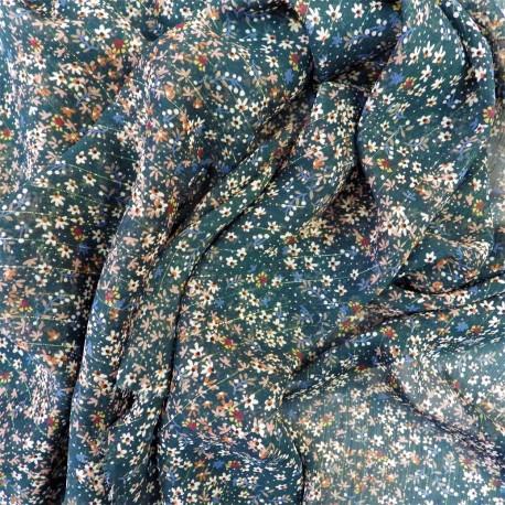 Tissu voile à fils de lurex / 22850 /  12.90€ le m