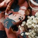 Tissu viscose plumetis Atelier Brunette : 22852 : 19.90€ le m