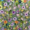 """Tissu jersey  """" Floral Garden"""" : 22854  : 19.90 € le m"""