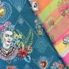"""Tissu jacquard  """" Frida KHALO"""" : 22855 / 22.50€ le m"""