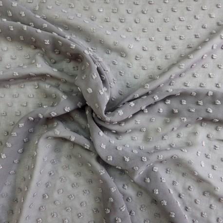 Tissu voile plumetis : 22861 / 8.50€ le m