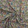 Tissu double gaze à fleurs :  12921  / 9.50€ le m