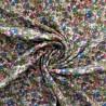 Tissu double gaze à fleurs :  12920  / 9.50€ le m