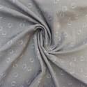 Tissu double gaze coton /  réf  12143