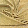 Tissu viscose  fiduo  moutarde /  réf : 22872