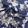 Tissu toile viscose /   réf : 12729