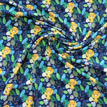Tissu jersey jungle / réf : 12136